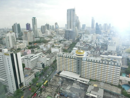 Pullman Bangkok Hotel G : View from our room