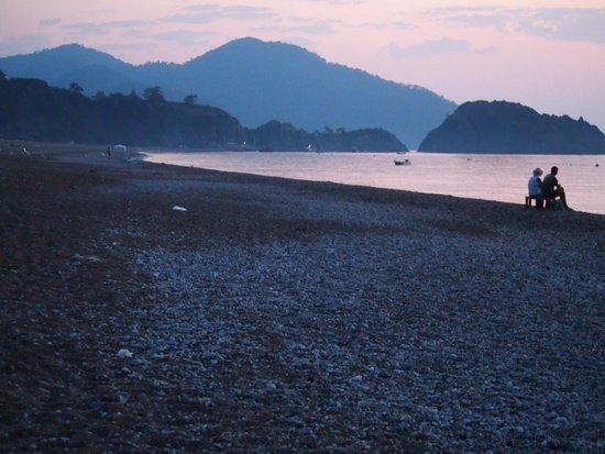 Bellerofon Hotel: Cirali beach from Bellerofon