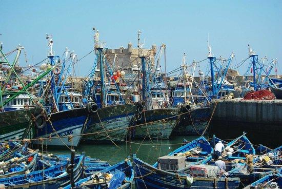Dar El Paco: Bateau de pêche Essaouira