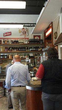 Buffet da Pepi: Banco portate