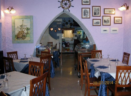Ristorante Pizzeria Kambusa: particolare sala ristorante