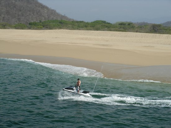 Hotel Villablanca Huatulco : One of the Beaches on 7 Bay Tour