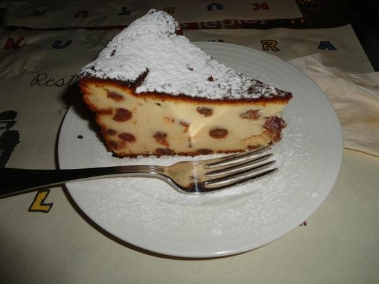 Restaurant Kultura in Kino : Cheesecake