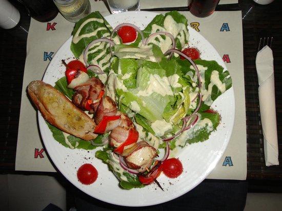 Restaurant Kultura in Kino : Ceasar salad