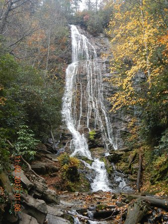 Cherokee / Great Smokies KOA: Falls located 5 minute drive from campground