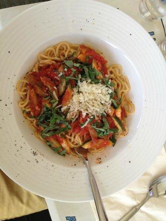 Restaurant Kultura in Kino : Pasta con zucchine e asparagi