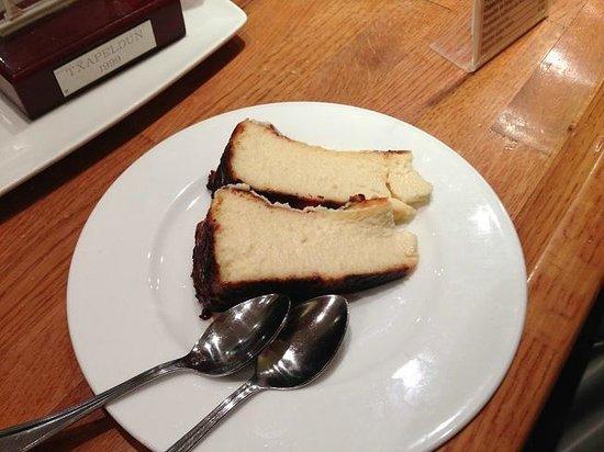La Vina : Pastel de queso