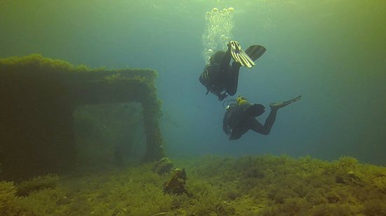 Neptunes Diving Malta: On the Wreck