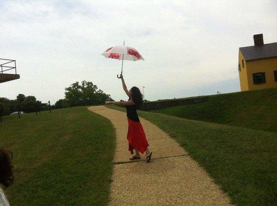 Fort Washington Park: Начало тура - я