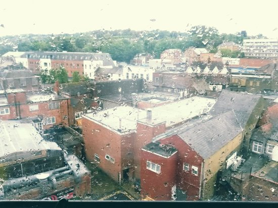 Travelodge High Wycombe Central: hotel room view