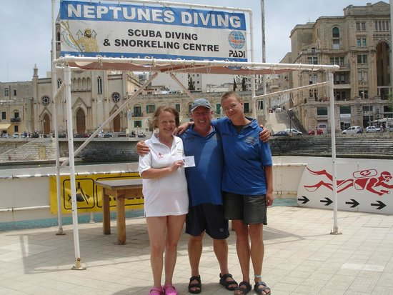 Neptunes Diving Malta: Passed my AOWD course with Martin and Franca