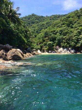 Beautiful Cove at the Ocean Grill Vallarta