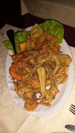 Ristorante Moresco: Fritto misto di pesce