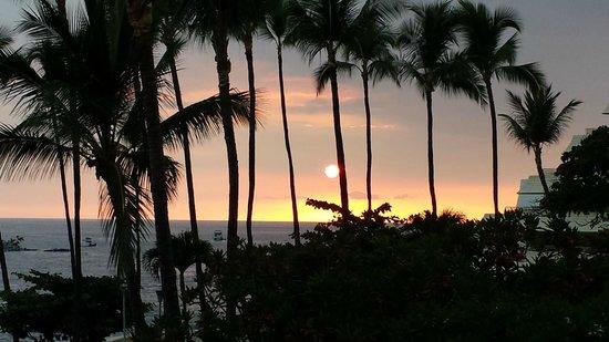 Royal Kona Resort : Room with a View!