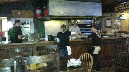 Keg Lounge: Kitchen area