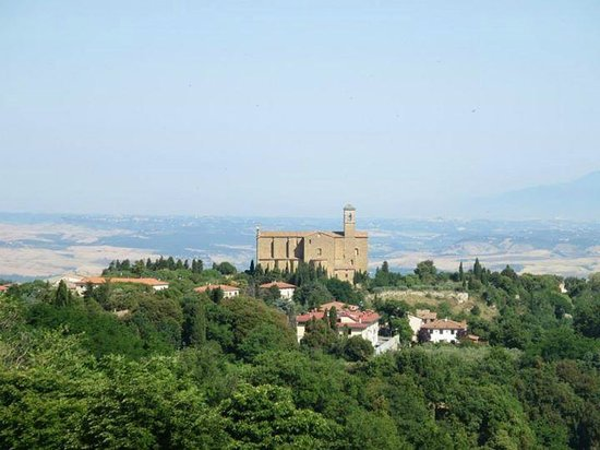 Rome Driving Tours: View from Volterra