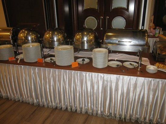 Best Western Premier Hotel Astoria: Breakfast buffet