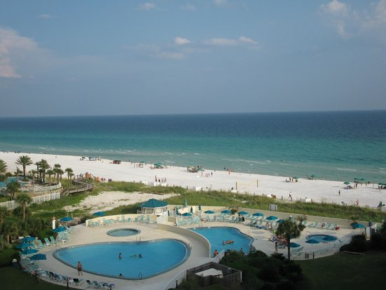 Edgewater Beach Condominium : View from Balcony