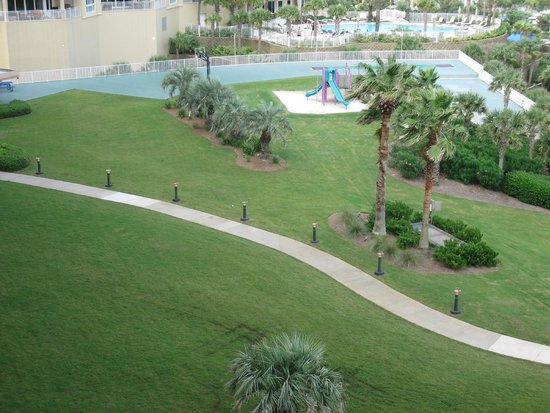 Edgewater Beach Condominium: View of property from balcony