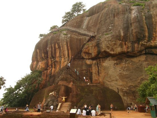 Sigiriya World Heritage Site: Nearly there !!