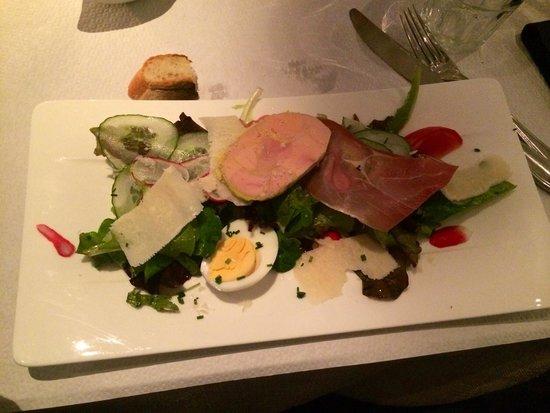 La cocotte de grand-mere : Salade Foie Gras