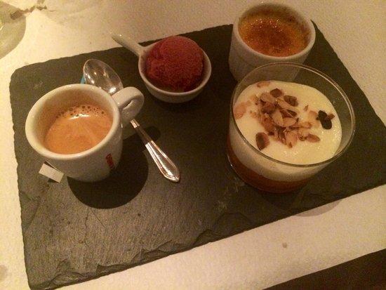 La cocotte de grand-mere : Café gourmand