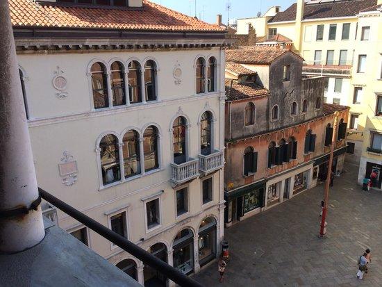 Hotel San Luca: Vista dall'appartamento deluxe
