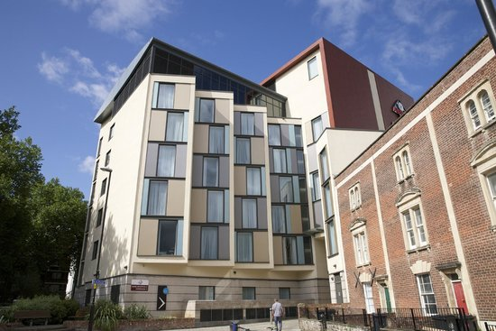 Future Inn Cabot Circus Hotel: Back view of Hotel