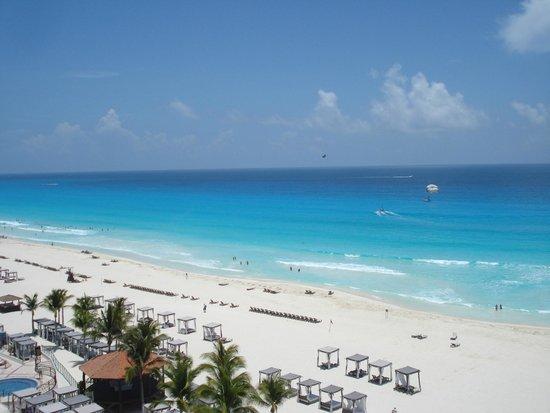 Hyatt Zilara Cancun: vista praia