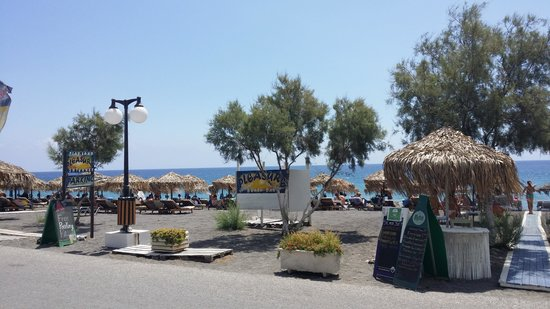 Makris Hotel: stranden