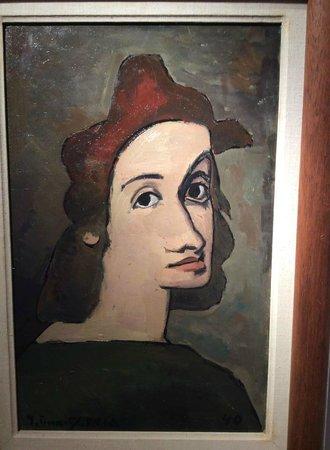 Museo Torres García: Obra da Exposição Homens e Monstros - Cézanne