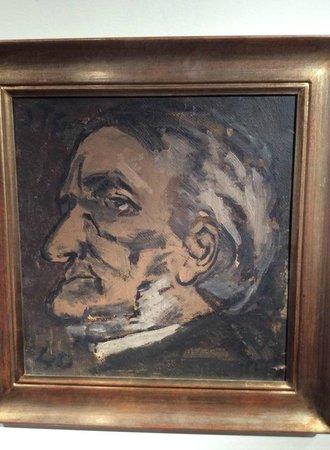 Museo Torres García: Obra da Exposição Homens e Monstros - Wagner