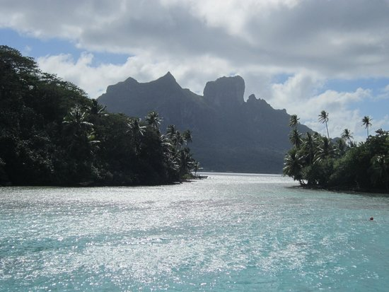 Conrad Bora Bora Nui : The view from our room