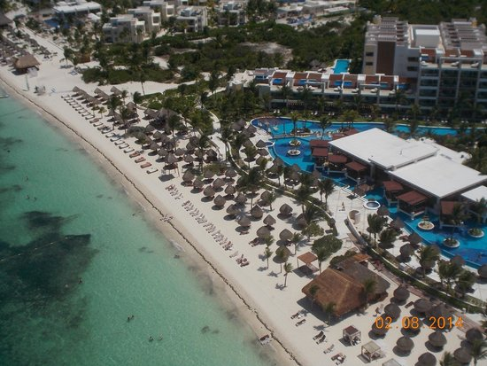 Excellence Playa Mujeres: View from paragloding