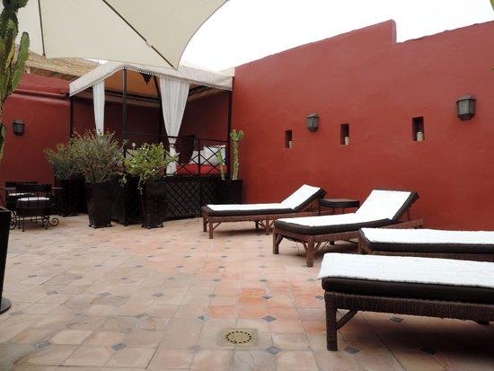 Riad Argan : Terrace