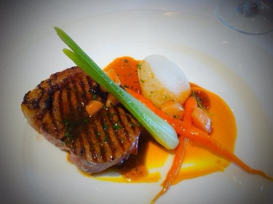 Miller Howe Hotel & Restaurant: Strip loin from dinner menu