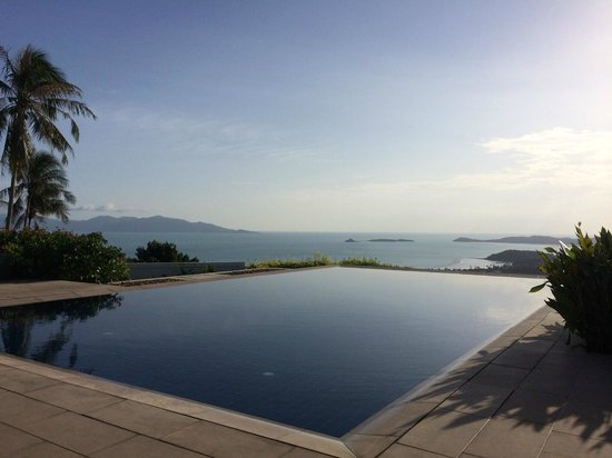 Baan Sawan Villa: View from the Pool
