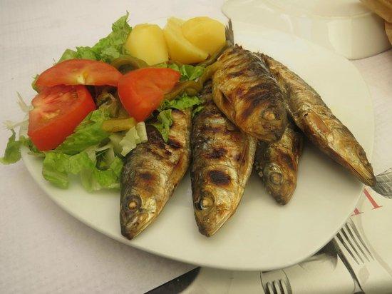 Alfama: Сардины