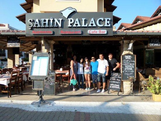 Sahin Palace: Frontage