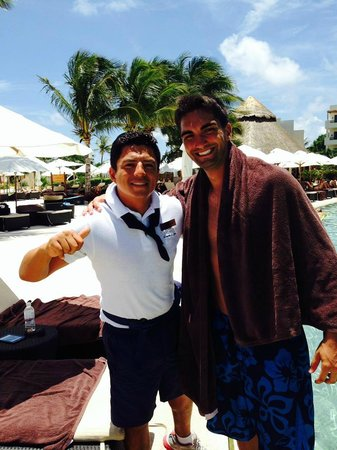 Secrets Maroma Beach Riviera Cancun: Ivan great guy part of the entertainment team