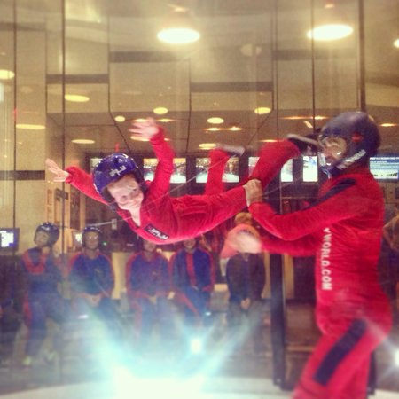 iFLY Austin Indoor Skydiving: 6 y/o flying high - Loved it! Andrew is great with the kids!