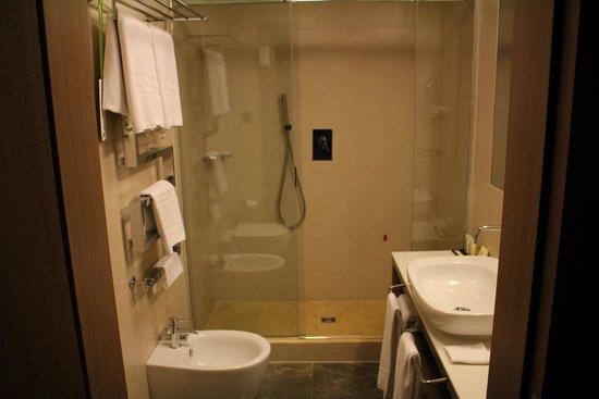 Grand Hotel Europa: Baño