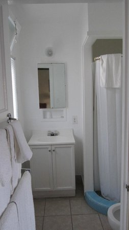 Farmhouse Motel: Bathroom
