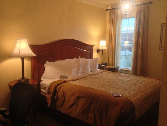 The George Washington A Wyndham Grand Hotel: Sleeping area
