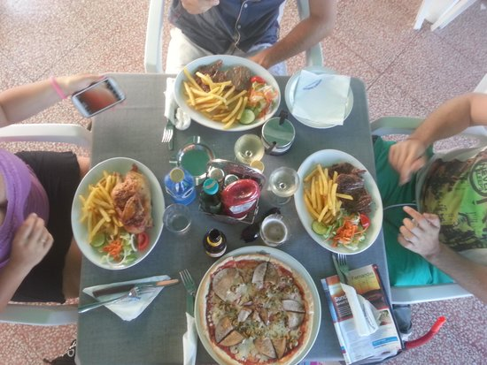 Georges Seafront Restaurant: pranzo