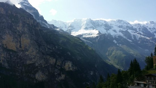 Hotel Eiger: Balcony view, right