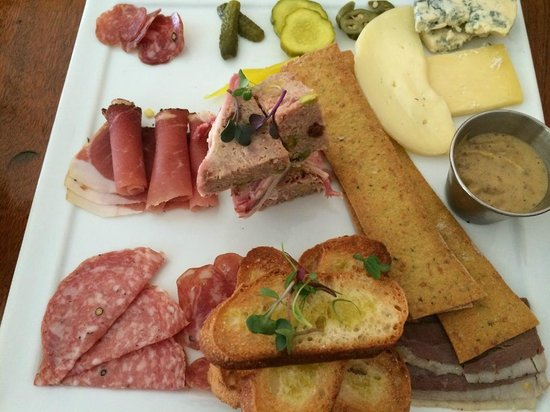 Oak Steakhouse: The Charcuterie plate