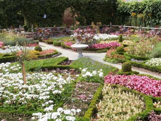 Knot garden - Picture of Shakespeare\'s New Place, Stratford-upon ...