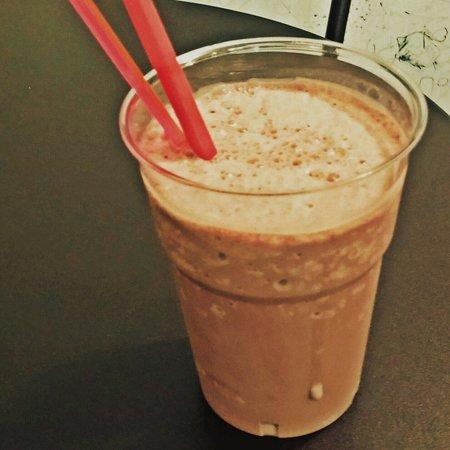 100% gelato: Un Milk shake al cioccolato