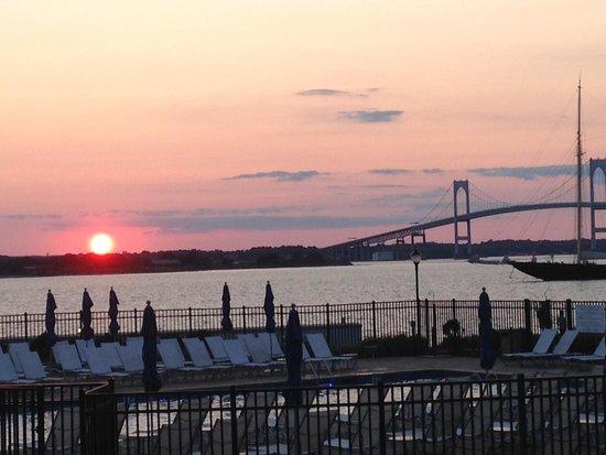 Hyatt Regency Newport: sunset